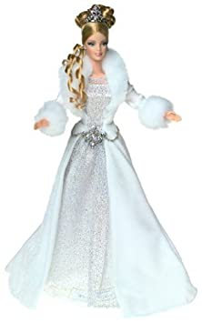 Holiday Visions: Winter Fantasy Barbie Doll by 2003 Mattel TOY (English Manual)