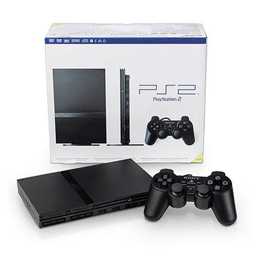 Sony-PlayStation 2 Console - Black