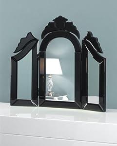 c m terni 3 teiliger spiegel im venezianischen stil f r frisiertische klein 43 x 49 cm. Black Bedroom Furniture Sets. Home Design Ideas