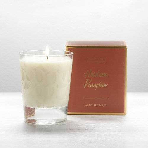 Illume Heirloom Pumpkin Large Boxed Glass Candle