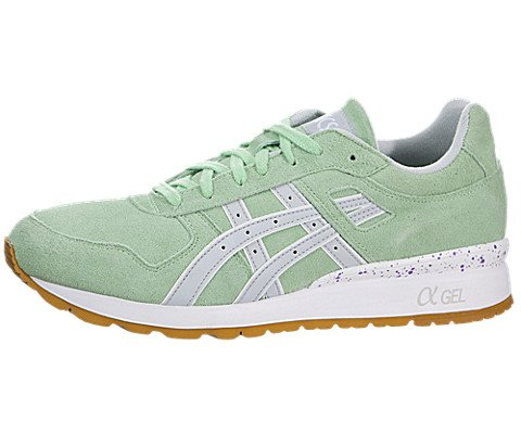 Onitsuka Tiger by Asics Men's GT-II? Green Ash/Soft Grey Sneaker 10 D (M)