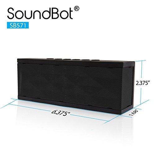 SoundBot SB571 Bluetooth Wireless Speaker (Black)
