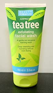 Beauty Formulas Exfoliating Facial Wash, 150ml
