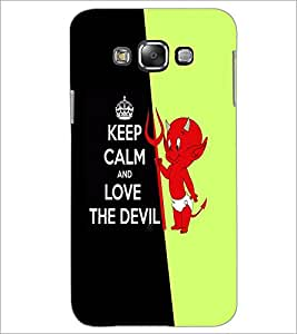 PrintDhaba Quote D-2995 Back Case Cover for SAMSUNG GALAXY GRAND 3 (Multi-Coloured)