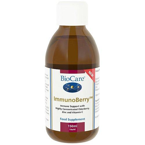 BioCare Immunoberry - Elderberry & Zinc - Immune System Support -150ml