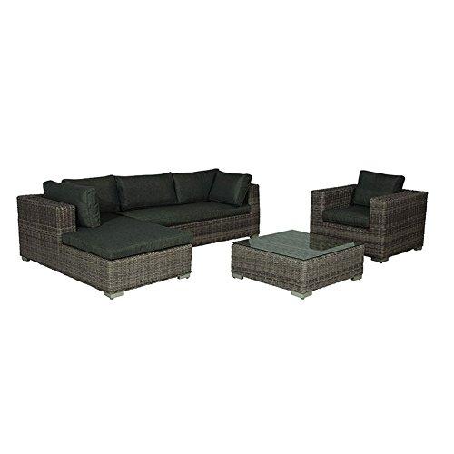 Gartenlounge OUTLIV. Salamanca Loungeset 4-teilig Geflecht Organic Grey 700016-836465 jetzt bestellen