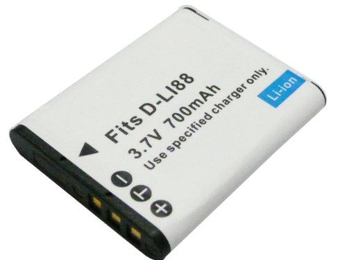 SANYO 【サンヨー DB−L80/D−LI88 互換バッテリー】Xacti DMX-CA100  DMX-CS1 DMX-CG110 Optio H90 対応
