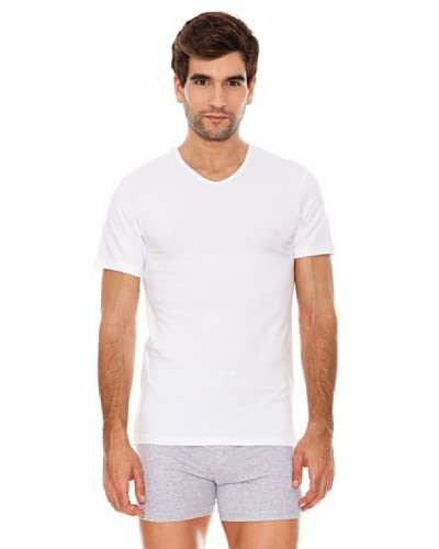 Abanderado Canotta Intima Real Cool Cotton Bianco 2XL