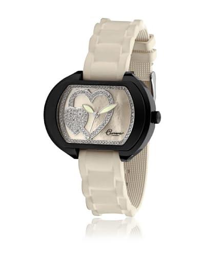 Carrera Reloj Victoria Black Diamond Cuore 34008 Nácar