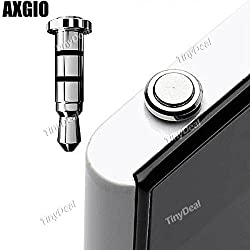 AXGIO 3.5mm Smart Klick Key Quick Button Click Dustproof Plug Earphone Jack Plug EPATH-318605