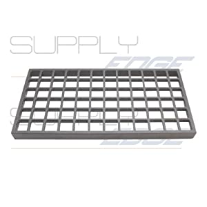 """Waffle Grate Bottom Grate for Char-Broiler 8"""" x 15"""" Imperial Part No"""
