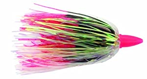C&H Smoker Choker Lure with Luminescent Head, 4 1 2-Inch, Black Pink by C&H