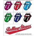 Aufkleber Set Rolling Stones