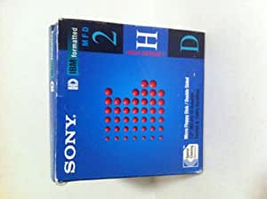 Sony 10mfd 2hdcf 10 Pack Blister Box Package
