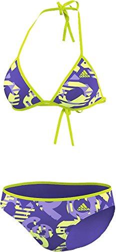 Adidas Beach adidas Print HN Bikini, blau/lila/gelb - 42 [Misc.]