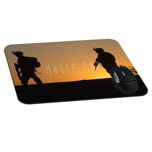 Us Army On Sunset Mousepad Cool Mouse Pads Personality Mat Unique Design Custom Mousemat (Army Mouse Pad compare prices)