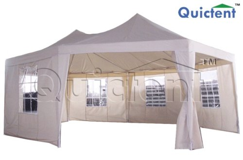 Quictent Large Octagon Gazebo Canopy Party Tent Marquee Wedding