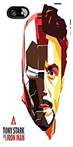 Snoogg Tony Stark is Iron Man Case Cover For Apple Iphone 5c