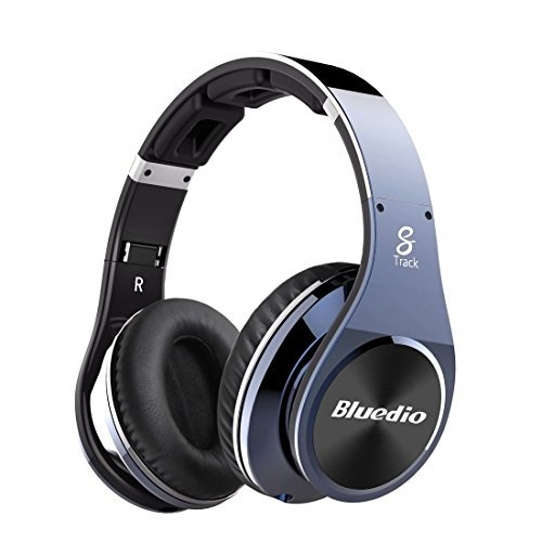 Click to buy Bluedio R + Legend bluetooth 4.0 headset headphone earpiece wireless Smartphone compatible low-energy NFC support music play sealed metallic black - From only $86.15