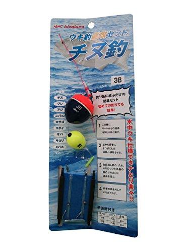 (キザクラ) ウキ釣速攻セット チヌ釣