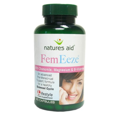 Natures Aid Femeez With Chamomile, Magnesium & B-Vitamins 90Caps - Pms Support