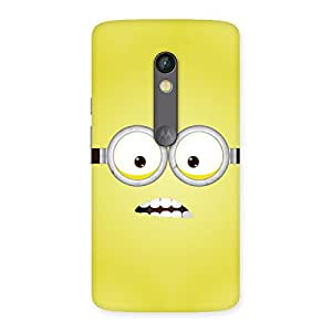 Cute Yellows Fun Back Case Cover for Moto X Play