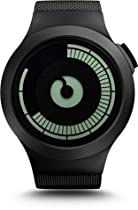 Ziiiro Saturn Z0008WB Black Digital Mens Watch