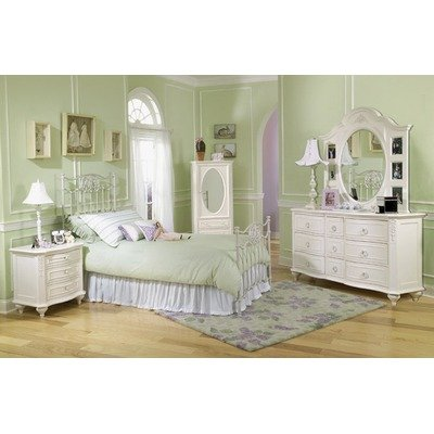 Cheap LC Kids Enchantment White Metal Bedroom Series Enchantment White Metal Bedroom Set (Enchantment White Metal Bedroom Series)