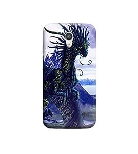 EPICCASE Premium Printed Mobile Back Case Cover With Full protection For Motorola Moto G2 (Designer Case)
