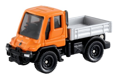 Tomica No.22 - Mercedes Benz Unimog (Box) - 1