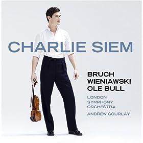 Charlie Siem Plays Bruch, Wieniawski & Bull