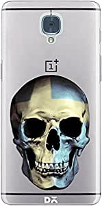 DailyObjects Swedish Skull Clear Case For OnePlus 3