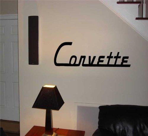 Corvette logo Chevrolet Corvette Emblem Wall Art Sticker Decal 16