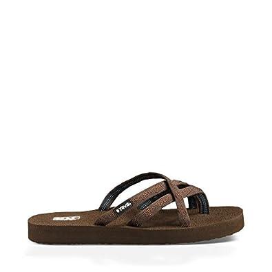 Teva Women's Olowahu Sandals,Mix B Bracken,6 M US