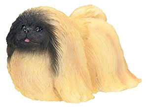 Pekingese Dog- Collectible Statue Figurine Figure Sculpture Puppy