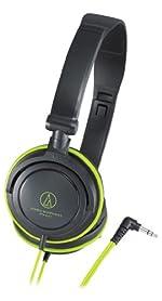 audio-technica ポータブルヘッドホン ATH-SJ11 BGR