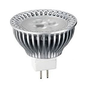 G7 Power G7MR16300WW 12-Volt Dimmable CREE LED MR16 Bulb with Bi-Pin Base, Warm White