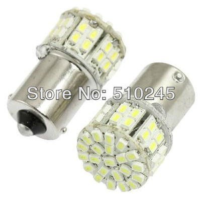12 Volt Led 2-Pack Led Replacement For 1156 1141 1073 1093 1129 15S Bayonet Base 50 Smd