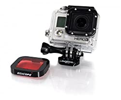 GoScope (60M) Red Filter - DIVE HOUSING (60M Case) Red Filter for GoPro HERO4