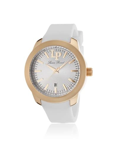 Lucien Piccard Women's 12924-RG-02 Belle Etoile White Silicone Watch