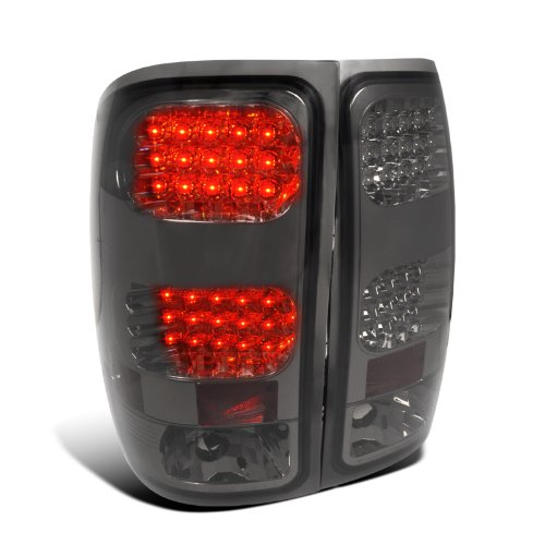 Gmc Sierra 1500/2500/3500 Smoked Led Tail Lights
