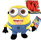 Despicable Me Deluxe 9 Inch 3D Minion JORGE Figure Plush Soft Toy collectible -XTRAFUN ESSENTIALS (From UK)