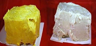 10lb Raw African Shea Butter Combo 5lb Ivory & 5lb Yellow