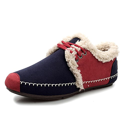 YUE Chaussures de mode/Chaussures de coton rembourré sauvages et loisirs/Chaussures hommes casual classique