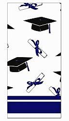 Creative Converting School Colors Paper Art Square Graduation Party Plastic Table Cover, Purple