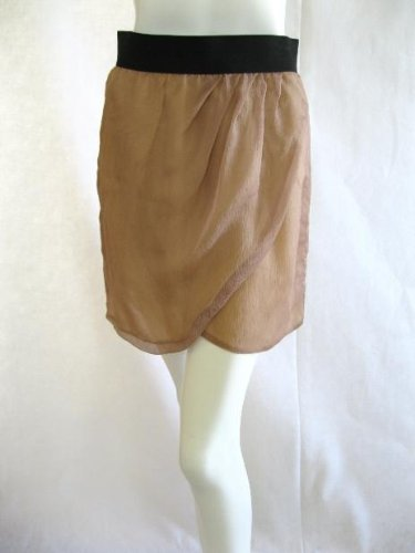 LEYENDECKER Fessine Blush Silk Mini Skirt 2