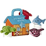 "Aurora World Baby Talk My Beach House Carrier 8"" Plush"