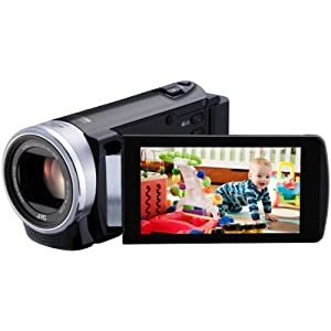 JVC  GZ-E200BUS1080p HD Everio Digital Video CameraVideo Camera with 3-Inch LCD Screen (Black)