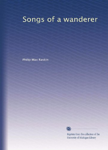 Songs Of A Wanderer front-396928