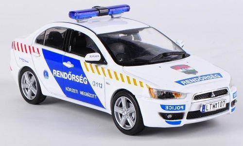 Mitsubishi Lancer X Hungarian, Police, 2009, scale: 1:43, Ready Made, Vitesse